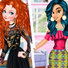 Princesses Redheads Vs Brunettes