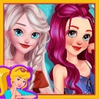 Ariel And Elsa Instagram Stars